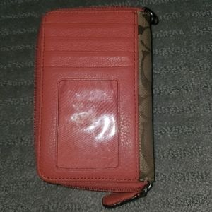 Small gently used Coach wallet